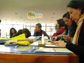 Fundalectura 2013 - Taller a Cargo de Jorge Andrés Colmenares, Olga Parra y Viviana Díaz